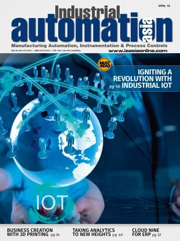 IGNITING A REVOLUTION WITH INDUSTRIAL IOT