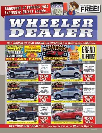 Wheeler Dealer Issue 19, 2016