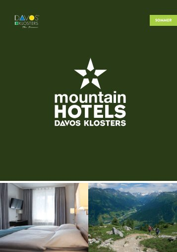 Mountain Hotels Sommer 2016