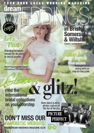 Dream Weddings Magazine - Bristol, Somerset & Wiltshire - iss.33