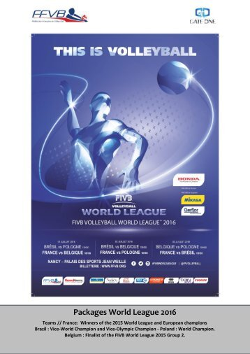 Packages World League 2016