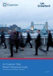 An Experian Data Breach Response Guide