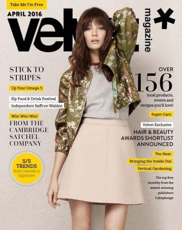 Velvet Magazine April 2016