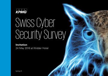Swiss Cyber Security Survey