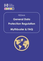 General Data Protection Regulation Mythbuster & FAQ