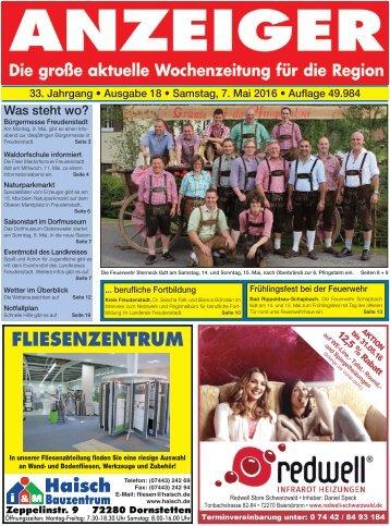 Anzeiger Ausgabe 18/16