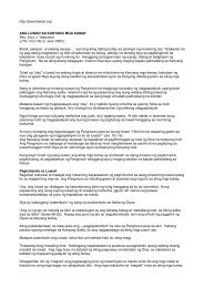 Modyul 3 Pagsusuri sa Akda Batay sa mga Teoryang Humanismo
