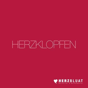 HERZBLUAT Marketing Werbeagentur Portfolio
