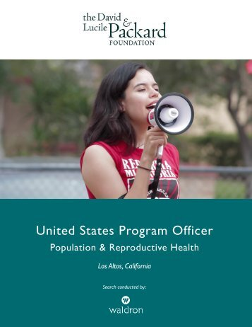 United States Program Officer
