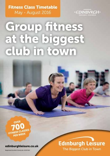 Group fitness at the biggest club in town