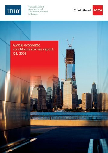 Global economic conditions survey report Q1 2016