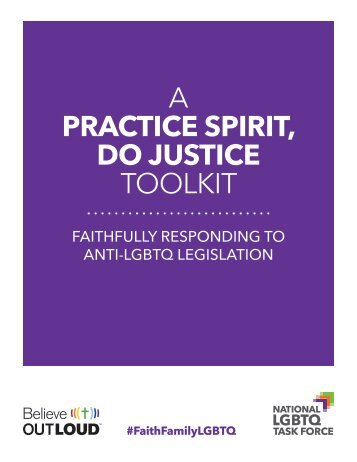 A PRACTICE SPIRIT DO JUSTICE TOOLKIT