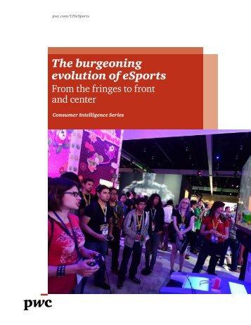 The burgeoning evolution of eSports