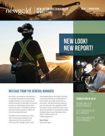 NEW LOOK! NEW REPORT!