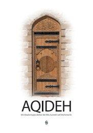 AQIDEH - Die Glaubensgrundsätze der Ehlu Sunneh wel Dschema'ah (Leseprobe)