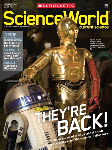 scholastic science world the current science magazine - 358×480