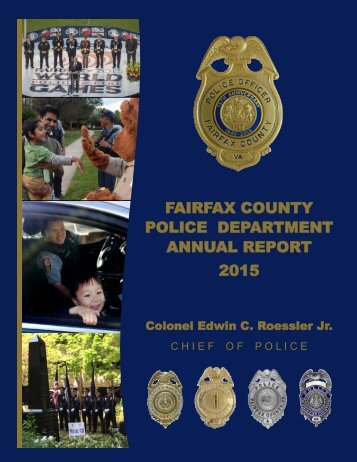 POLICE DEPARTMENT ANNUAL REPORT 2015