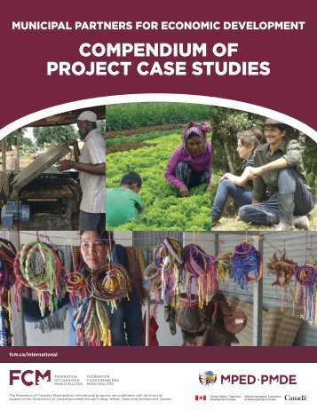 COMPENDIUM OF PROJECT CASE STUDIES