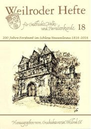 Weilroder Heft 18