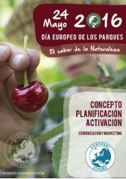 EUROPARC Federation 2016 | www.europarc.org El Sabor de la Naturaleza