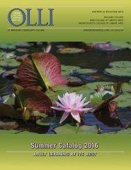 Summer Catalog 2016