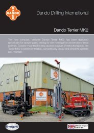 Dando Drilling International
