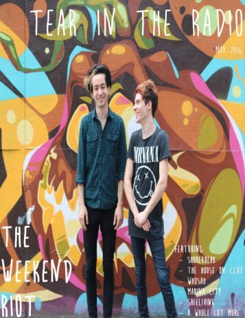 Issue One - The Weekend Riot