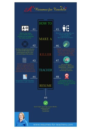 Teacher Resume Writing Tips and Advice