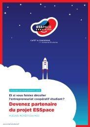 Devenez partenaire du projet ESSpace