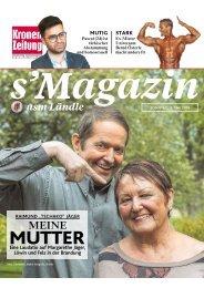 s'Magazin usm Ländle, 8. Mai 2016