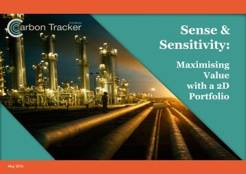 Sense & Sensitivity