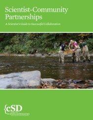 Scientist-Community Partnerships