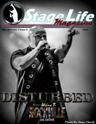 Stage Life May 2016