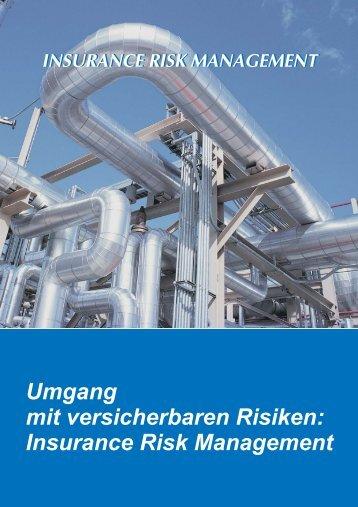 Insurance Risk Management - IRM Versicherungsberatung GmbH