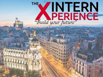 Brochure The Intern Xperience