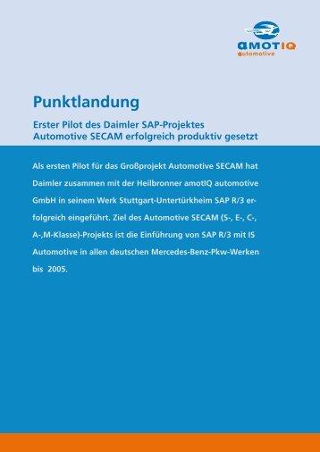 Punktlandung - PDF in deutsch - amotIQ automotive GmbH