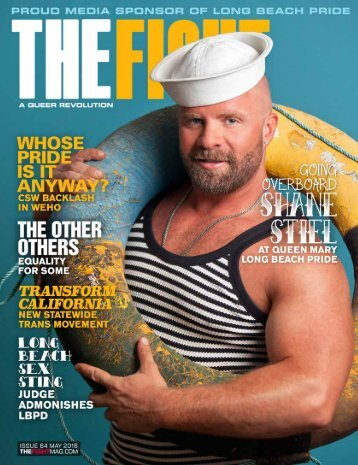 THE FIGHT SOCAL'S LGBTQ MONTHLY MAGAZINE MAY 2016