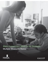 Make Assessment Work for All Students Multiple Measures Matter