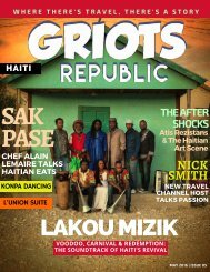 GRIOTS REPUBLIC - An Urban Black Travel Mag - May 2016