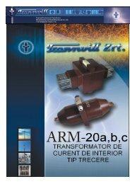 Transformatoare de masura curent de trecere tip ARM - Mondotrade