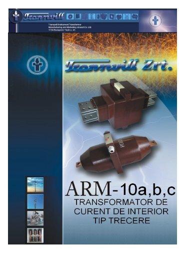 Transformatoare de masura curent de trecere tip ARM - Mondo Trade