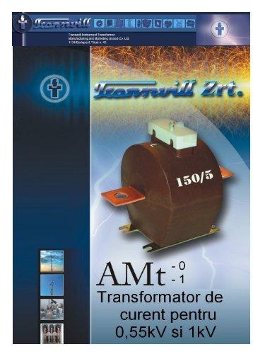 Transformatoare de masura curent tip AMt-0 si - Mondo Trade