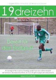 19dreizehn - Ausgabe 14