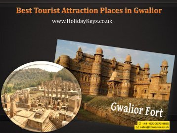 Best Tourist Attraction Places in Gwalior - HolidayKeys.co.uk