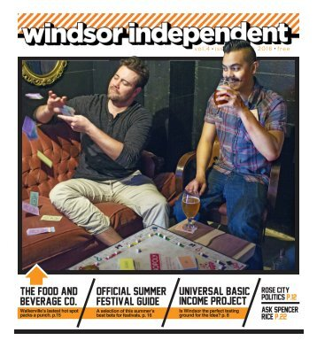 Windsor Independent - May 2016