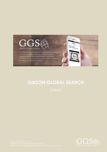 GGS i-intro Brochure