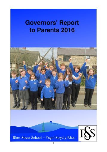 Governors' Report to Parents 2016