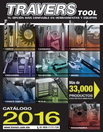 Catálogo  Travers Tool 2016