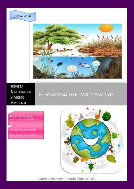 Revista Ecosistema