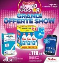Auchan Santa Gilla 05-15 Maggio 2016